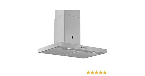 Campana - Balay 3BC076MX, Decorativa, 590m3/h, 3 posiciones, 75 cm, Inox: 194.27: Amazon.es: Grandes electrodomésticos