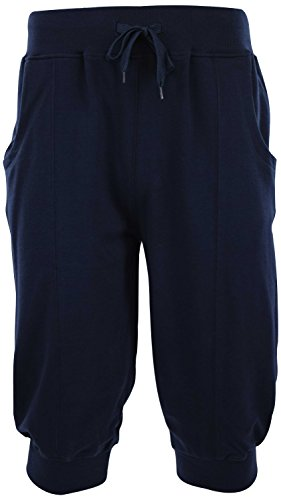 ChoiceApparel Mens Jogger SweatShorts (S-2XL) (M, Navy) by ChoiceApparel