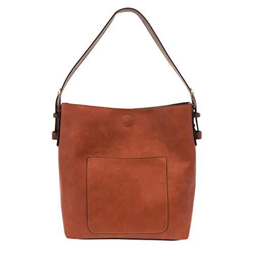 Joy Susan Classic Hobo Handbag (Russet)