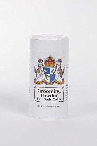 Crown Royale 0002112 Pet Full Body Grooming Powder, 1 lb - Grooming Powder
