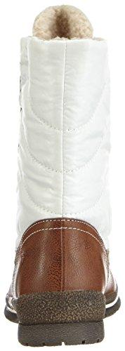 Tamaris 26228 - botas de caño bajo de textil y sintético mujer Muscat/OffWhite. 386