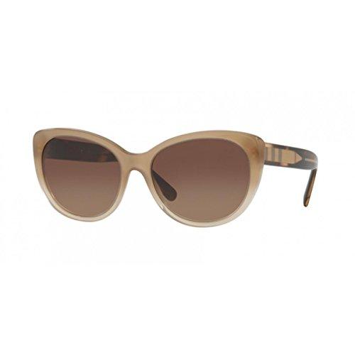 Burberry Women's 0BE4224 Gradient Beige/Gradient Brown - Women's Cat Eye Sunglasses Burberry