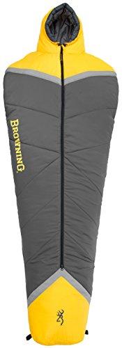 - Browning Camping Refuge +15 Degree Mummy Sleeping Bag