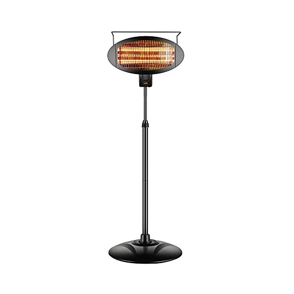 Sundate-Halogen-Patio-Heater-IndoorOutdoor-Electric-Vertical-Heater-with-3-Power-Levels-PHP-1500DI