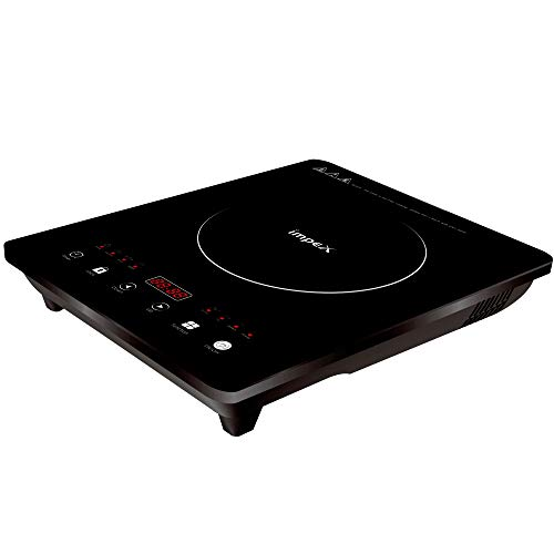 Impex OMEGA-H6A Touch Control Induction Cooktop Without Pot (1500 Watts,Black)