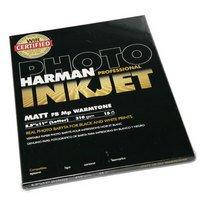 Inkjet Matt FB Mp Warmtone Paper 8.5 x 11 , 15 (Harman Inkjet Matt)
