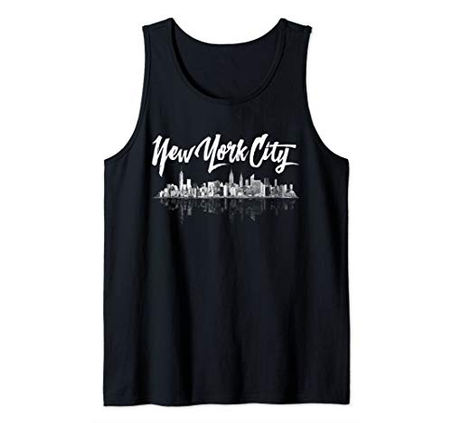 New York City Skyline Tank Tops Souvenirs for Women & Men Tank Top - New York Womens Tank Top