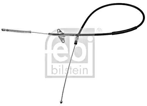 Parking Brake Cable Left Rear FEBI For MERCEDES 82-95 6114201685
