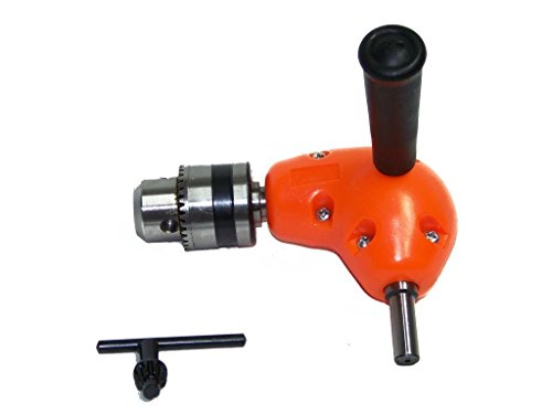 Jikkolumlukka Right Angle Adapter 90° Power Drill Tool Attachment Tight Space Fix It DIY Tools from Jikkolumlukka