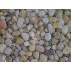 Spectrastone Ocean Beach Pebble for Freshwater Aquariums, 25-Pound Bag