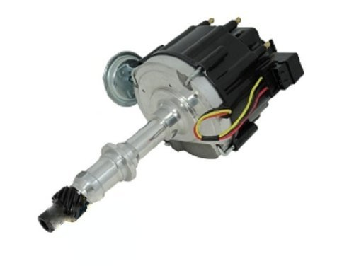 TSP Pontiac HEI Distributor with 65,000 Volt Coil and OEM Style Cap #6504-BK