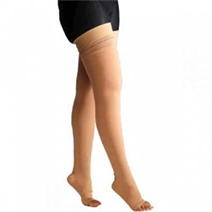 d83defbd24 Buy Comprezon Varicose Vein Stockings Class 1- Mid Thigh- 1 pair (Medium)  Online at Low Prices in India - Amazon.in