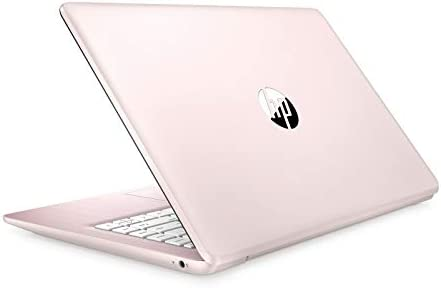 "HP Stream 14 Pink - Celeron N4000 - 4 GB RAM - 64 GB eMMC Storage - 14"" LCD - Wireless - Bluetooth - Webcam - Windows 10 S"
