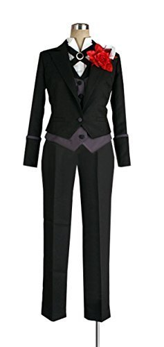 Claude Costume Faustus Cosplay (Dreamcosplay Anime Black Butler Claude Faustus New Outfits Costume)
