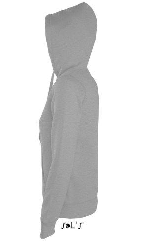 SOL'S - Sudadera con capucha - Básico - Capucha - para mujer gris