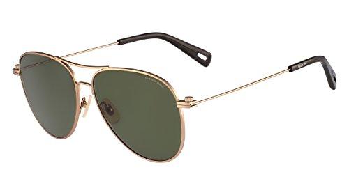 G-Star Raw GS104S Aviator Sunglasses, Copper Satin, 58 - Sunglasses Raw