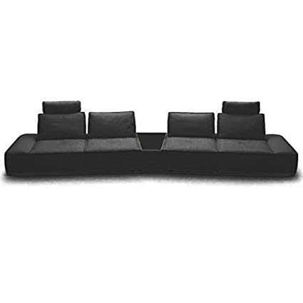 Amazon.com: VIG- Orchid Divani Casa Contemporary Black ...