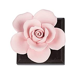 QFUN Handmade Ceramic Artificial Flower Fragrance Diffuser Living Room Bed Room Home Wedding Decoration - Great Gift for Mother's Day Valentine's Day Wedding and Christmas 107