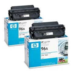 Price comparison product image HEWC4096AD - HP No. 96A UltraPrecise Black Toner Cartridge for LaserJet 2100/2200 Series