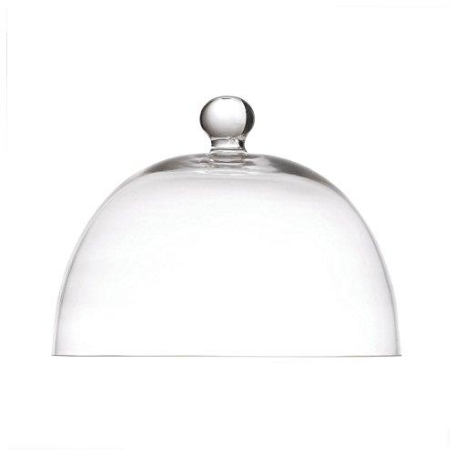 La Porcellana Bianca Arezzo Glass Dome, 8.25