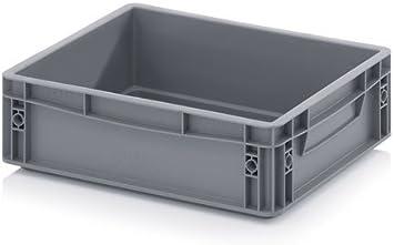 Eurobox - Caja apilable y plegable, 40 x 30 x 12 cm, 9 L: Amazon.es: Bricolaje y herramientas