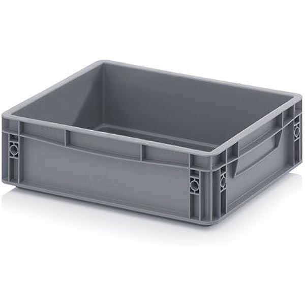 Eurobox - Caja apilable y plegable, 40 x 30 x 12 cm, 9 L: Amazon ...