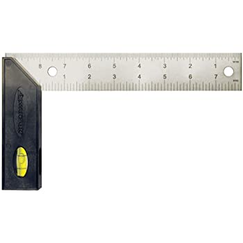 Swanson Tool TS151 Try and Miter Square 8-Inch (Plastic