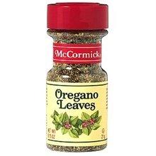 McCormick Mediterranean Style Oregano Leaves - 7 lb. box, 1 per case