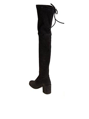 WL49697BLACK Suede Women's Black Stuart Weitzman Boots Ex1Pqq