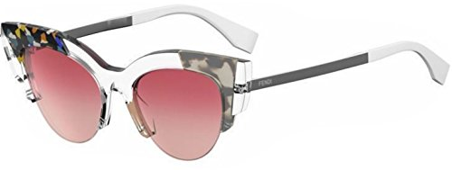 Authentic Fendi FF 0178 S Crystal w/Red Gradient Sunglasses