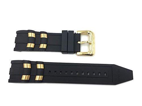 Genuine Invicta Pro Diver 26mm Black Watch Strap for Model 6981, 6983, 6985, 6995 by Invicta