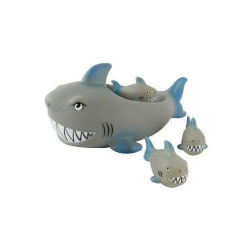 Rubber Shark Family Bathtub Pals