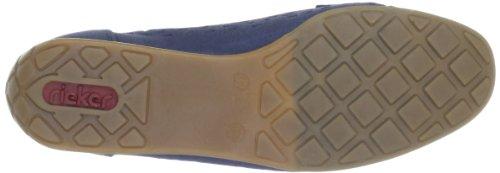 Rieker 41056-15 Damen Mokassins Blau (pazifik 15)