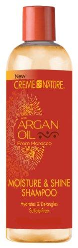 Creme of Nature Moisture & Shine Shampoo with Argan Oil: 12 OZ