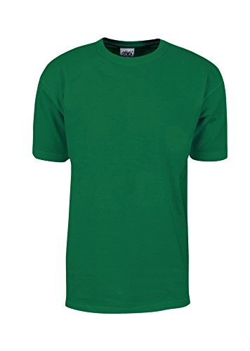 Ribbed Green Kelly (MHS06_2T Max Heavy Weight Cotton Short Sleeve T-Shirt Kelly Green 2X-Tall)