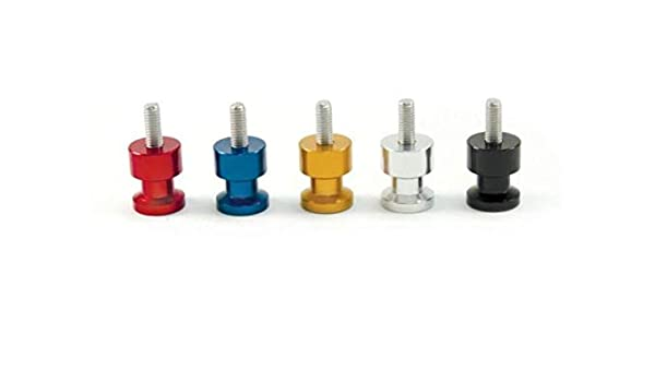 Factory Effex 15-36906 Silver 6mm Swingarm Spool