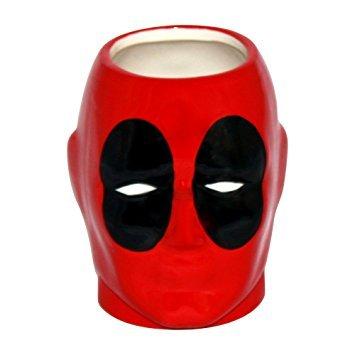 Deadpool 3D Molded Coffee Mug (Officially Licensed)