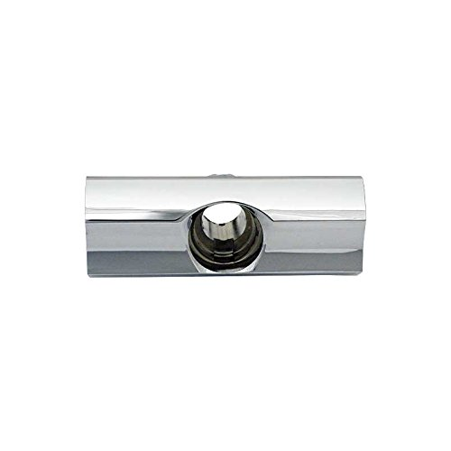 MACs Auto Parts 60-36228 Trunk Lock Housing - Chrome - Galaxie Except Station Wagon,