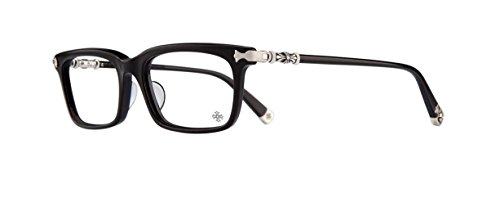 Chrome Hearts - Fun Hatch-A - Eyeglasses (Black, - Eyeglasses Japanese