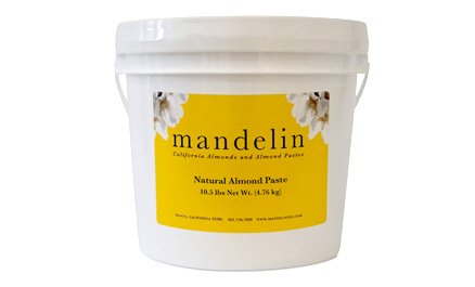 Mandelin Natural Almond Paste (10.5 lb), 50% Almonds, 50% Sugar by Mandelin (Image #2)