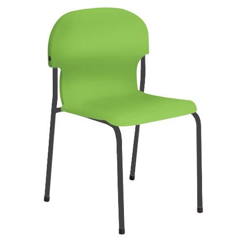 Metalliform 2021-mc-tangy verde standard Classroom sedia con sedile 460mm, piccante verde