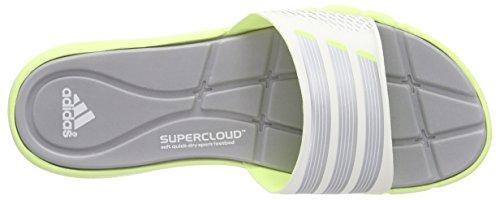 adidas Adipure 360 Slide W, Zapatillas de Deporte Exterior Para Mujer Blanco / Amarillo / Plata (Amdecl / Grpumg / Cermet)