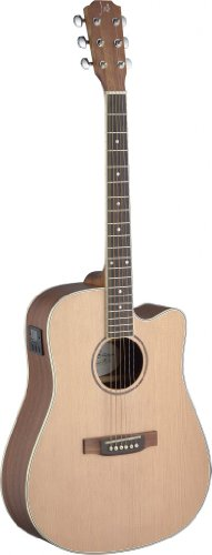 James Neligan ASY-DCE ASYLA Series Dreadnought Cutaway Acoustic-Electric Guitar