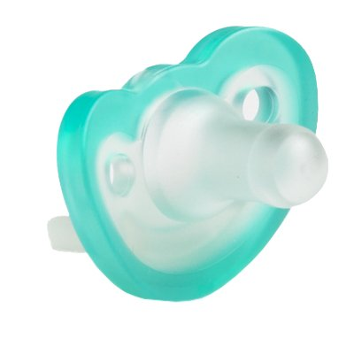 JollyPop 0-3 Months Pacifier 6 Pack Unscented - Teal