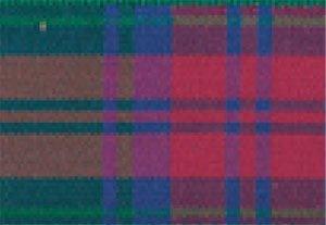 Berisfords Essentials R76227/12 | Lindsay Woven Tartan Ribbon | 25m x 7mm Lindsay Tartan Ribbon