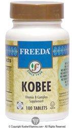Freeda Kosher B Complex Mild Kobee 100 TAB