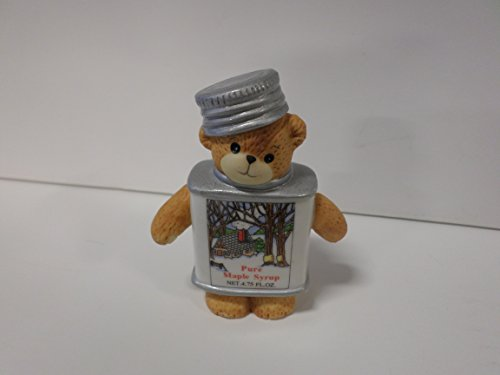 Lucy & Me Series (Enesco) ** Bear Dressed as Maple Syrup Figurine ** 205591