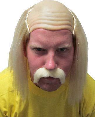 Hulk Hogan Hulkamania Adult Complete Costume Set