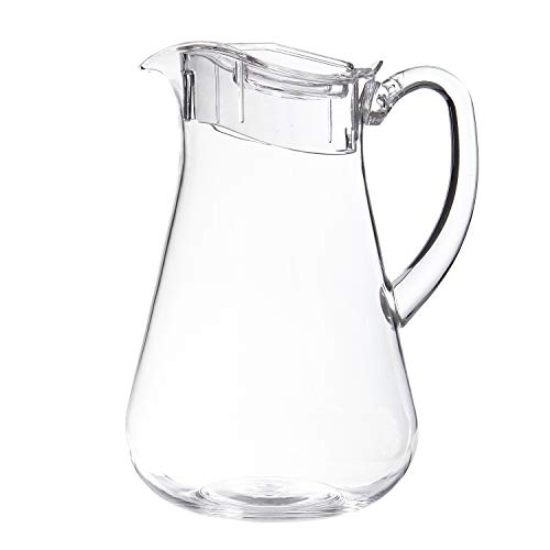 clear plastic water pitcher - 1