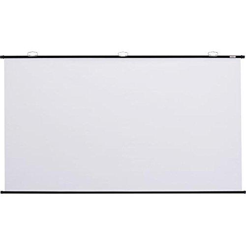キクチ科学研究所 壁掛け型スクリーン幕面黒マスクなしホワイトマット仕様100型HDサイズ KPV-100HDW B000PHWDSU